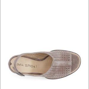 Via Spiga Shoes - Via Spiga Tasa Sandal in Heather Purple